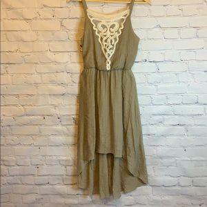 Emerald Sundae l High low dress